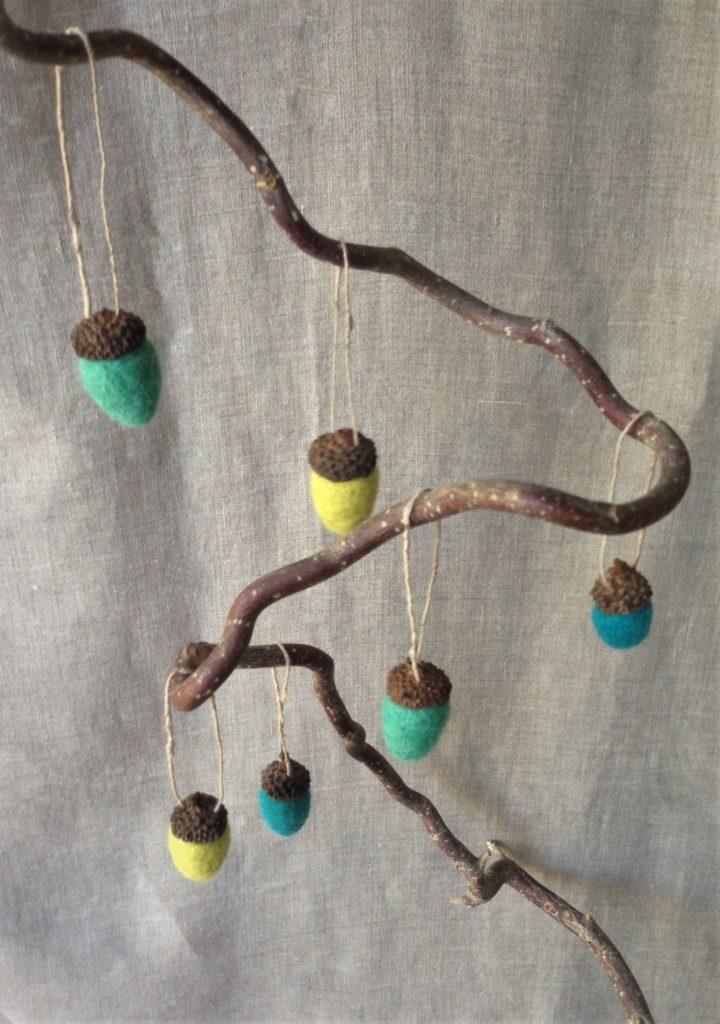 Hanging Acorns
